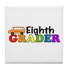 Eighth Grader Tile Coaster