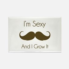 I'm sexy and I grow it Rectangle Magnet (10 pack)