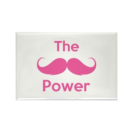 The moustache power Rectangle Magnet (100 pack)