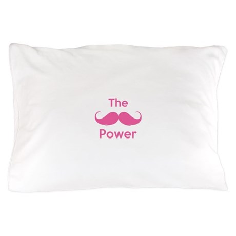 The moustache power Pillow Case