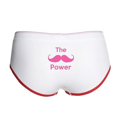 The moustache power Women's Boy Brief