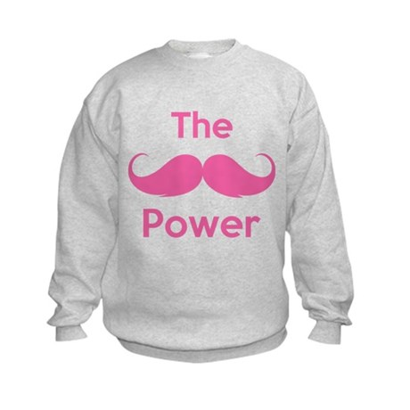 The moustache power Kids Sweatshirt