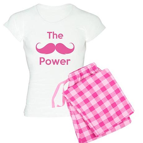 The moustache power Women's Light Pajamas