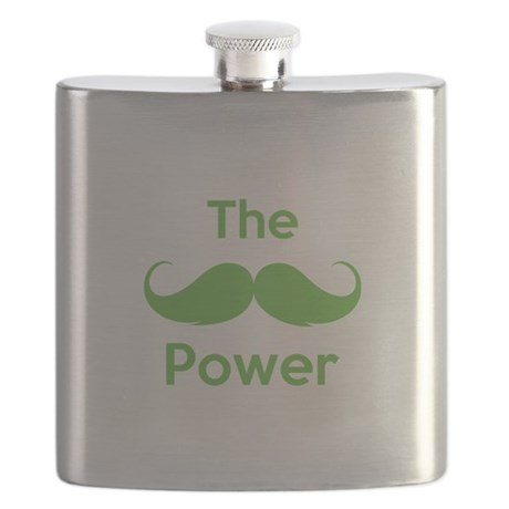 The moustache power Flask