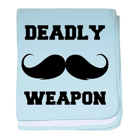 Deadly weapon baby blanket