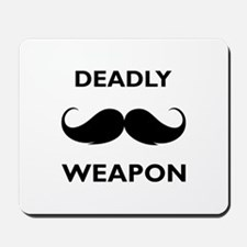 Deadly weapon Mousepad