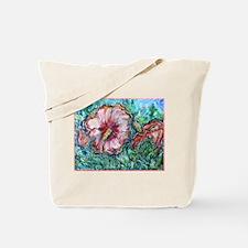 Rose of Sharon! Hibiscus, flower art! Tote Bag