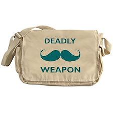 Deadly weapon Messenger Bag