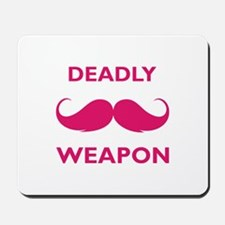 Deadly weapon Mousepad