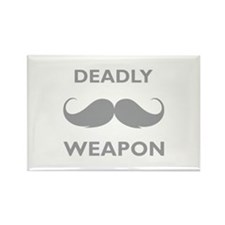 Deadly weapon Rectangle Magnet (10 pack)