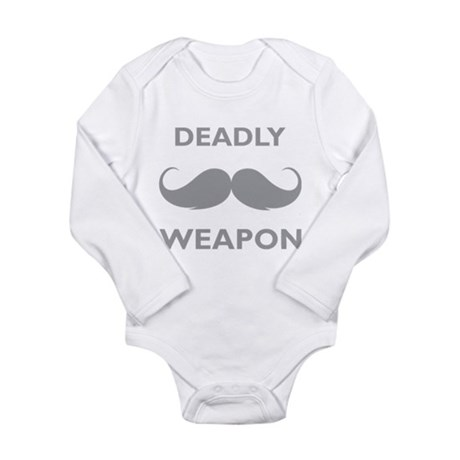 Deadly weapon Long Sleeve Infant Bodysuit