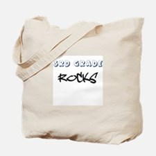 3rd Grade Rocks Tote Bag