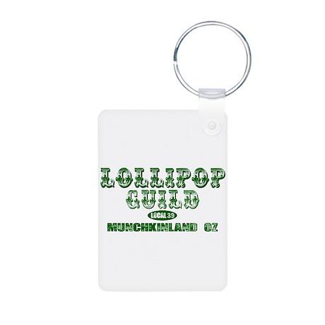 Lollipop Guild Aluminum Photo Keychain