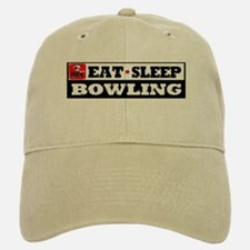 Eat Sleep Bowling Baseball Baseball Cap