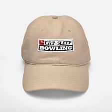 Eat Sleep Bowling Cap