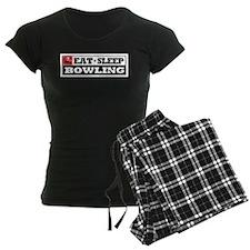 Eat Sleep Bowling Pajamas