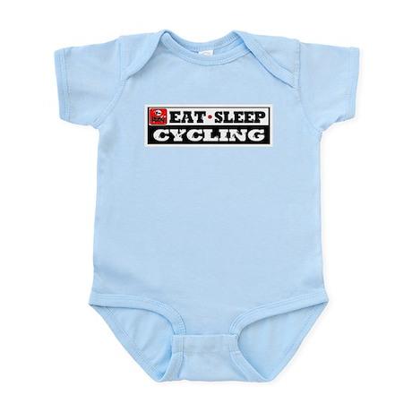 Eat Sleep Cycling Infant Bodysuit