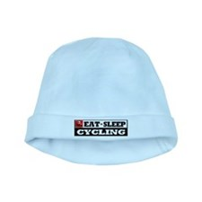 Eat Sleep Cycling baby hat