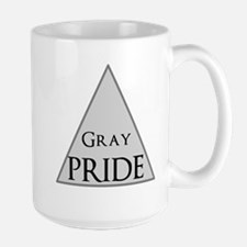 Gray Pride Mug