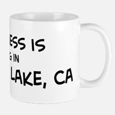 Big Bear Lake - Happiness Mug