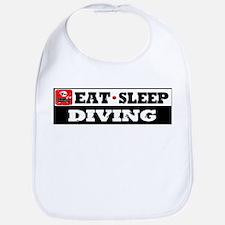 Eat Sleep Diving Bib