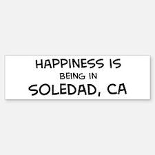 Soledad - Happiness Bumper Bumper Bumper Sticker