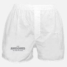 I Just Awesomed All Over The Place Boxer Shorts