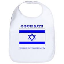 Cute Israel support Bib