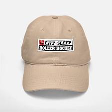 Eat Sleep Roller Hockey Baseball Baseball Cap