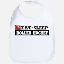 Eat Sleep Roller Hockey Bib