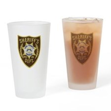 KCSO Drinking Glass