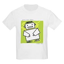 GirlsLoveRobots - BatteryBot Kids T-Shirt