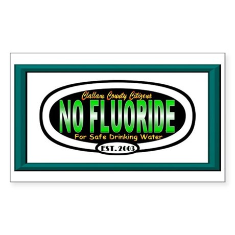 FLUORIDE Sticker {Square}