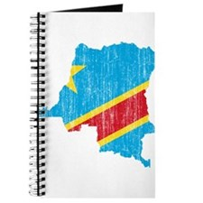 Democratic Republic Of The Congo Flag And Map Jour