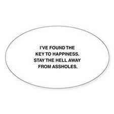 Key To Hapiness Decal