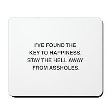 Key To Hapiness Mousepad