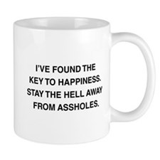 Key To Hapiness Mug