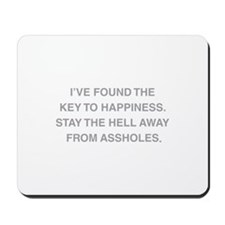 Key To Hapiness Mousepad