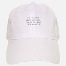 Key To Hapiness Baseball Baseball Cap