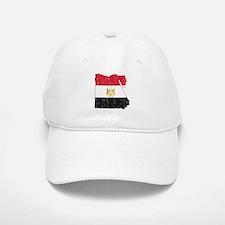 Egypt Flag And Map Baseball Baseball Cap