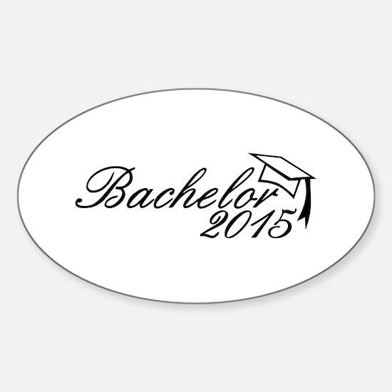 Bachelor 2015 Sticker (Oval)