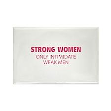 Strong Women Rectangle Magnet
