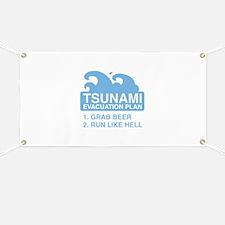 Tsunami Evacuation Plan Banner