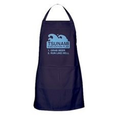 Tsunami Evacuation Plan Apron (dark)