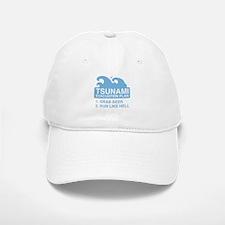 Tsunami Evacuation Plan Baseball Baseball Cap