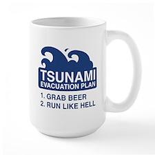 Tsunami Evacuation Plan Mug