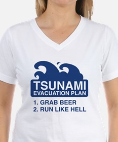 Tsunami Evacuation Plan Shirt