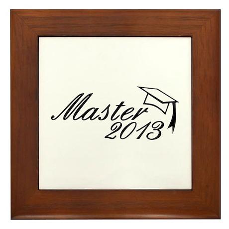 Master 2013 Framed Tile