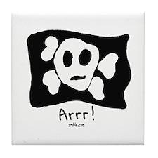 Arrr! Tile Coaster