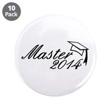 """Master 2014 3.5"""" Button (10 pack)"""